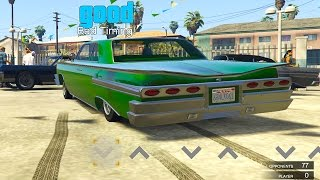 GTA 5 - Lowrider Challenge! San Andreas Game-Mode  [Mod Showcase]