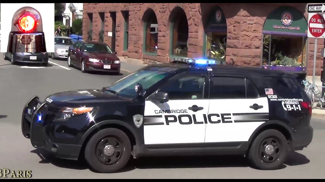 Cambridge Police Ford Explorer Responding Youtube