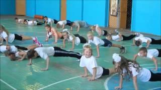 Урок ГТО в Первомайской средней школе Вологодского района
