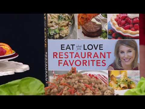 Eat What You Love Restaurant Favorites Cookbook By Marlene Koch On QVC