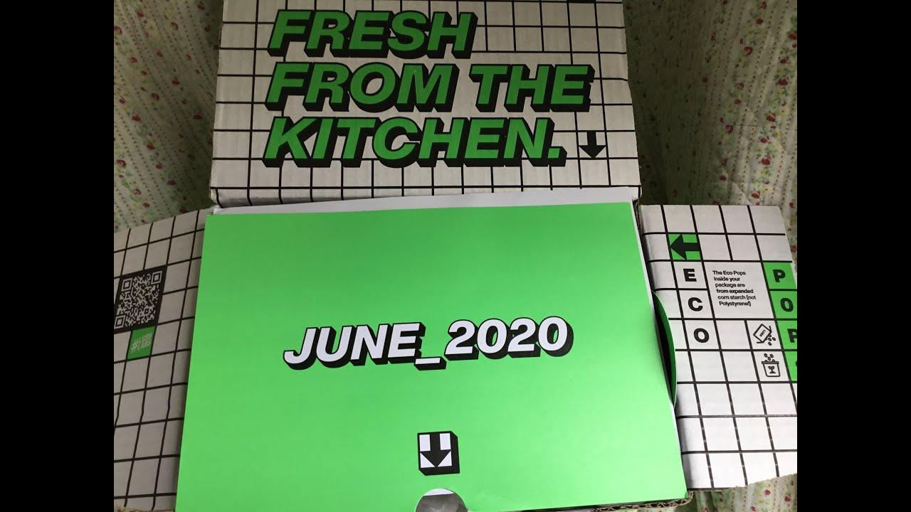 Lush Kitchen June Subscription Box - YouTube