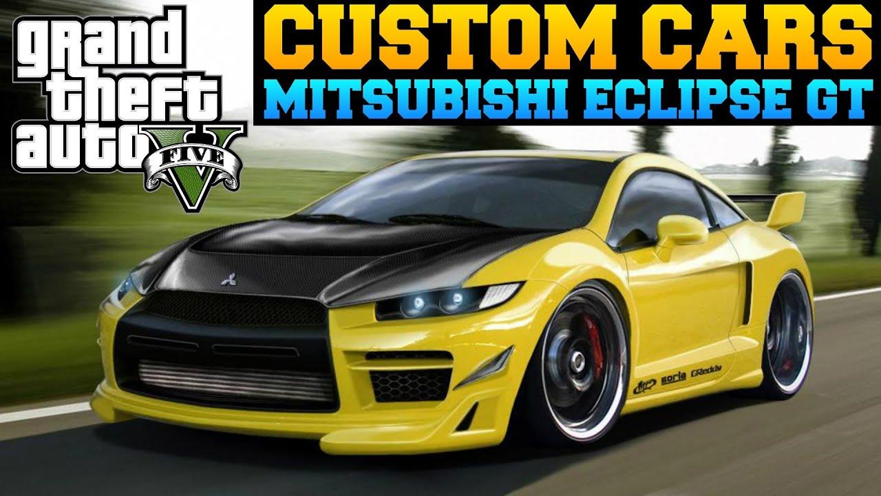 gta 5 custom cars 47 mitsubishi eclipse gt mini update youtube