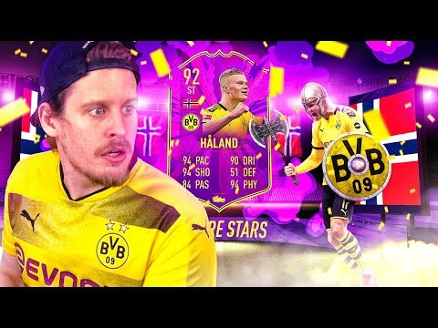 WHAT IS THIS CARD?! 92 FUTURE STARS HALAND PLAYER REVIEW! FIFA 20 Ultimate Team