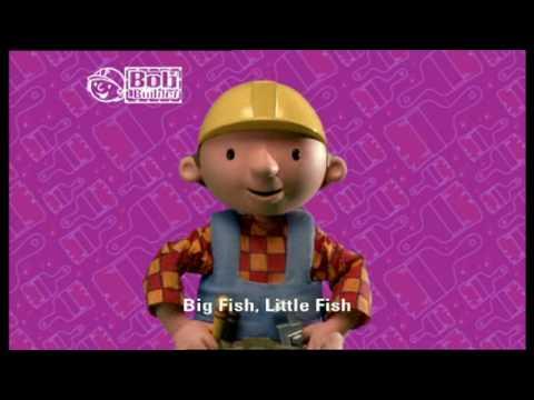 Bob The Builder - Big Fish, Little Fish, Cardboard Box (Music Video) (Karaoke) (HQ)