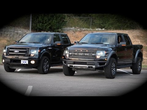 New Ford F150 Raptor vs FX4 Overview, Comparison, Review ...