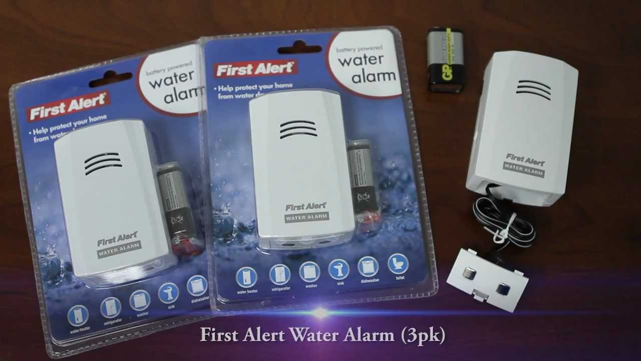 First alert water alarm unboxing and demo youtube first alert water alarm unboxing and demo sciox Image collections