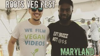 Roots Market Vegfest 2018 Featuring Vgn productions The Vegan roadie