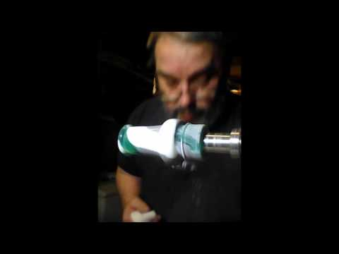 Polishing a Duck Call