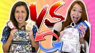 BACKPACK SWITCH UP CHALLENGE - PANCAKES HORRIBLES AVEC MISS JIRACHI !!!