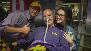 Steve Gleason gives ALS patients, researchers hope