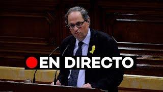 Directo: Segunda sesión de investidura de Quim Torra en el Parlament de Catalunya