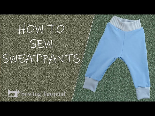 How To Sew Pants for Children | Tutorial | DIY