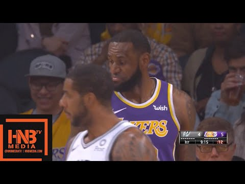 Los Angeles Lakers vs San Antonio Spurs 1st Qtr Highlights | 12.05.2018, NBA Season
