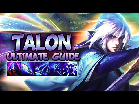 TALON GUIDE [FULLY DETAILED] 2019 SEASON 9 | Best Combos, Best Builds, Best Tips - League Of Legends