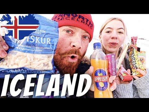 TRYING ICELANDIC SNACKS