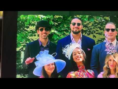 Aaron Rogers And Shailene Woodley At 2021 Kentucky Derby - Rogers Wears A Bowler Hat