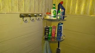 How to Fit Aluminium Bathroom Corner Rack