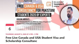 Free Canada \u0026 USA Consultancy for Pakistani Students
