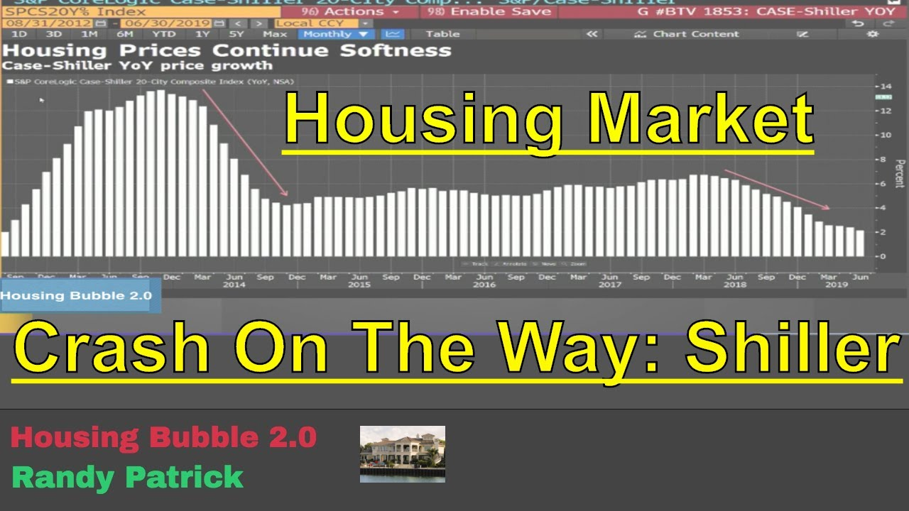 Housing Bubble 2 0 - Housing Market Crash on the Way: Shiller
