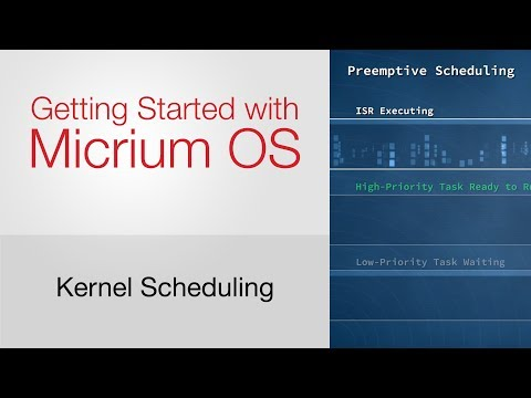 Kernel Scheduling: Getting Started with Micrium OS #4
