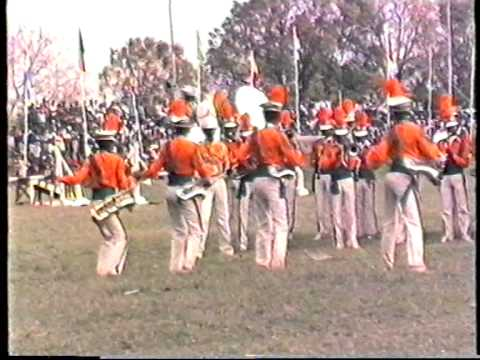 1987 Zambia   Lusaka, Derby, CHL, part 5, Kaunda, Pom-Pom Girls, Military Music, by HabariSalam