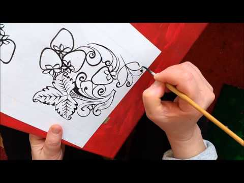 Русский орнамент и Хохломская роспись Картинки