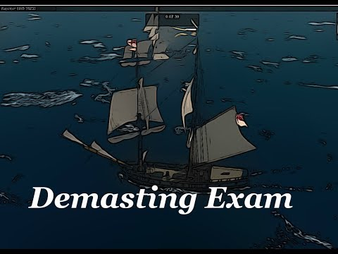 Demasting Exam commented - How to - Naval Action