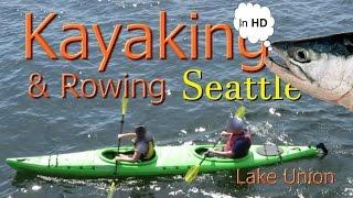 Kayak Rental & Rowing On Lake Union Seattle