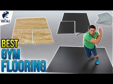 Top gym flooring of video review