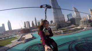 XDubai XLine Experience across Dubai Fountain