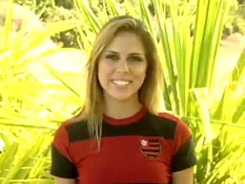 Entrevista De Nathalie Conti, Musa Do Flamengo No Brasileirão 2009