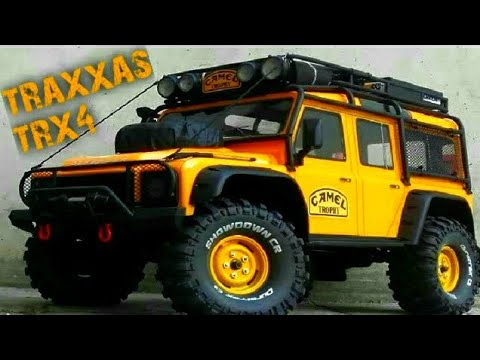Traxxas Trx4 Land Rover Defender Camel Trophy Amp Hg P402 Youtube