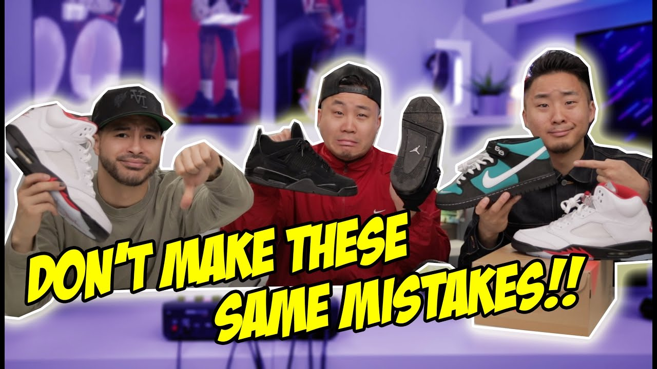 SNEAKER REGRETS! ADMITTING OUR WORST PURCHASES! Ft. Fung Bros