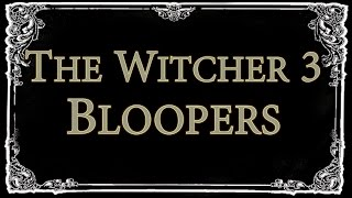 The Witcher 3 Bloopers   Funny Moments