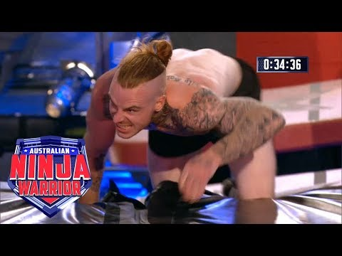 Ninja run: Corey Worthington | Australian Ninja Warrior 2018