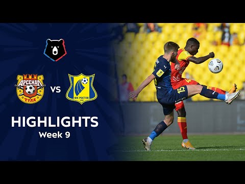 Arsenal Tula Rostov Goals And Highlights