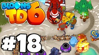 BATMAN Tower SAVES THE DAY! -  Bloons Tower Defense 6 Part 18 (BTD 6 IOS/Android)