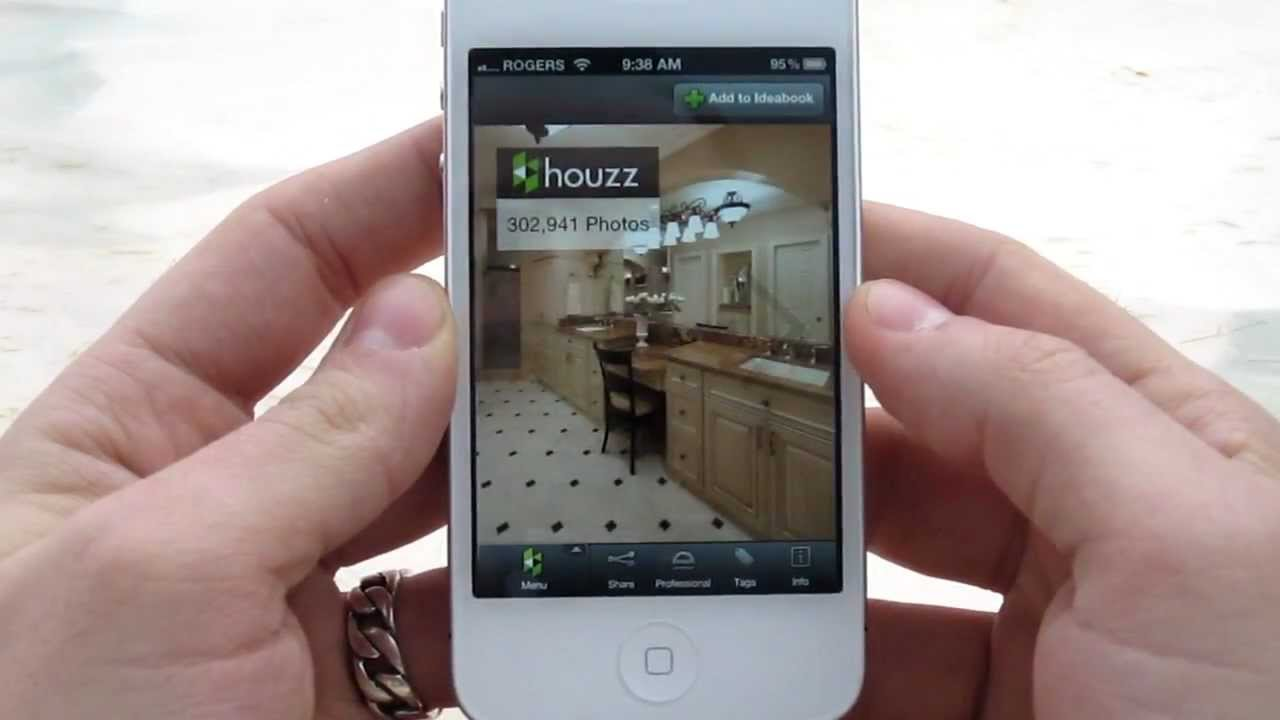 Houzz interior design app review for iphone youtube for Designing an iphone app