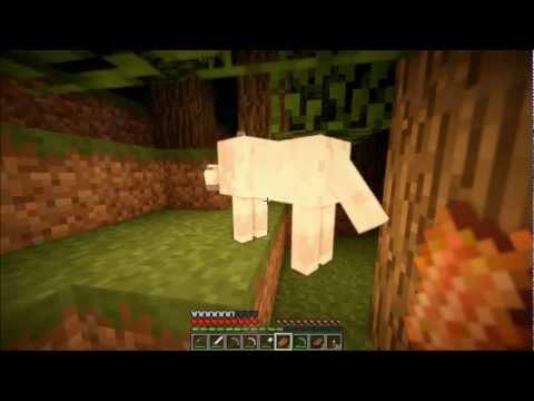 """Смотреть прохождение игры Minecraft - Затерянный остров. Серия 6: """"Собаки.."""""""