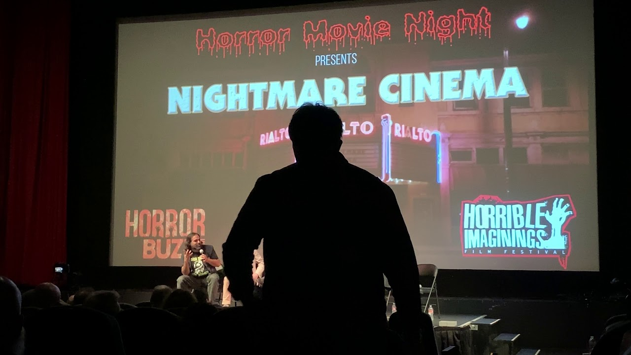 Nightmare Cinema Q&A at the Frida Cinema