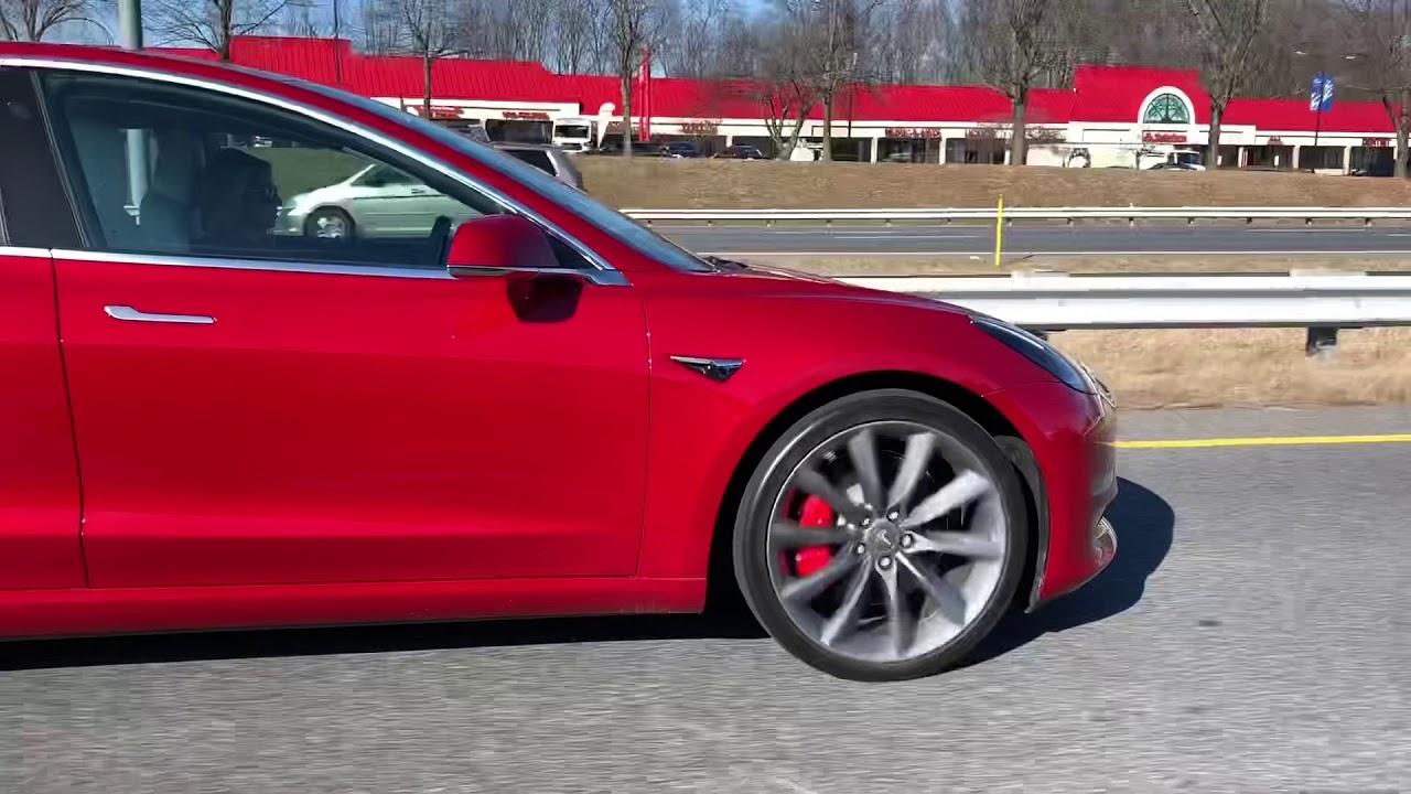 In motion Tesla Model 3 Performance Turbine Wheels T ...