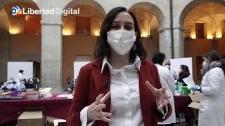 Ayuso pide a los madrileños donar sangre: