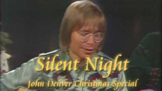 SILENT NIGHT- John Denver Christmas Special 1975 - 1976
