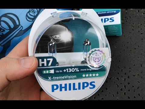 Philips X Treme Vision +130% H7 и Diamond Vision H3 обзор