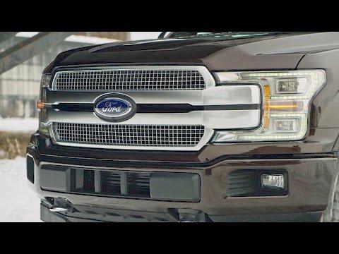 2018 Ford F-150 – Interior and Exterior Design
