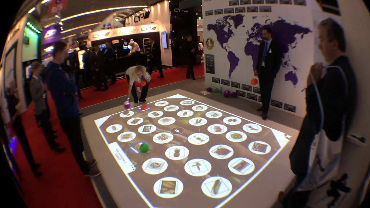 Interactive Floor Game
