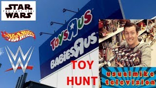 Toys R Us Epic Toy Hunt In A Queensland Store Featuring Star Wars, Hot Wheels & Wwe