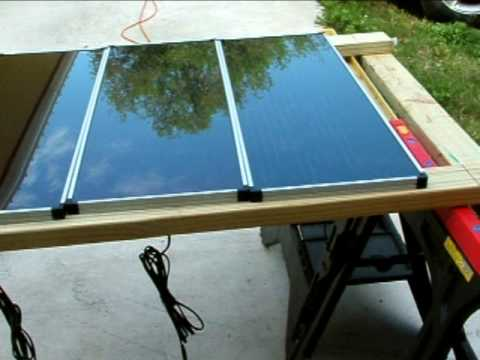 How to Install Harbor Freight Solar Panels Part 1