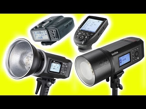 Godox TUTORIAL: AD600B, AD600BM & AD600Pro strobes, X1T & XPro flash triggers