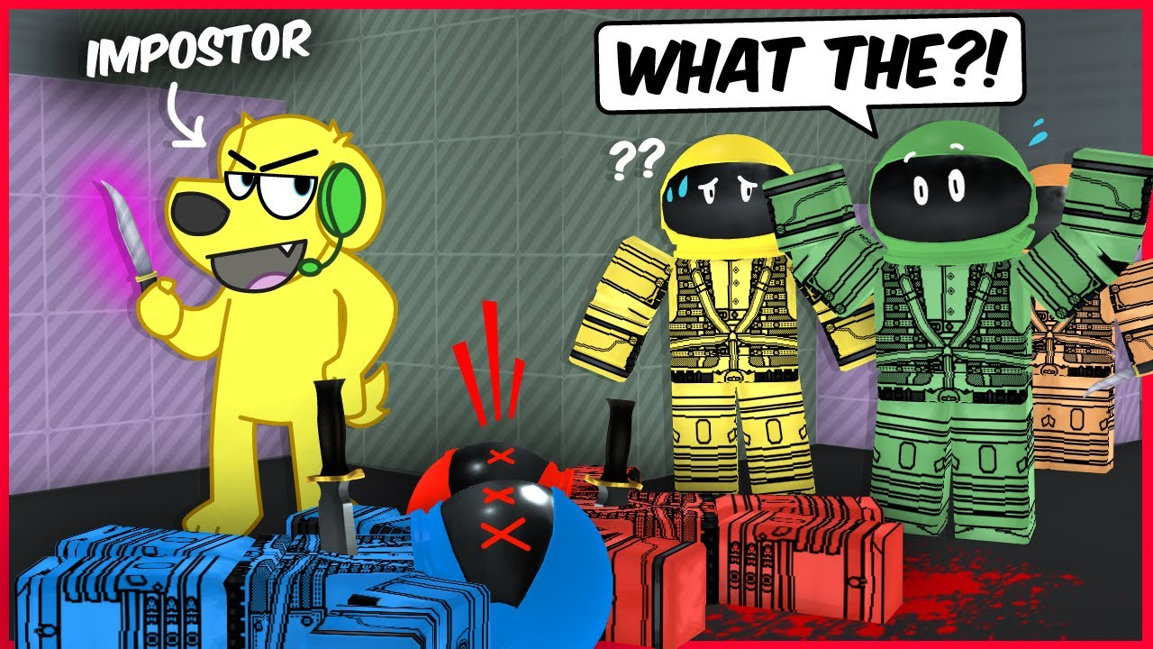 WHOS the IMPOSTOR? Roblox IMPOSTOR Funny Moments